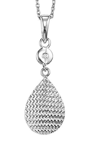 Silver Diamond Pendant / SPD2043