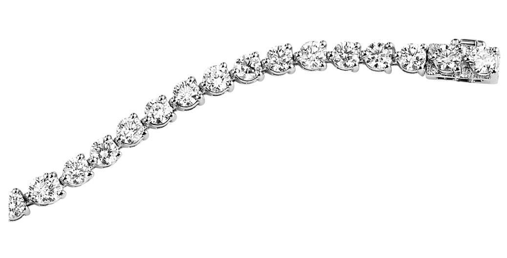 3 ctw Diamond Bracelet:B370-3ct
