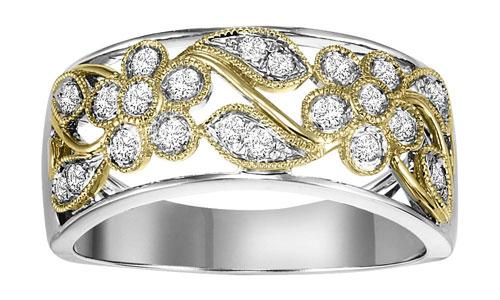 Gold Diamond Band 1/3 ctw/FR1404