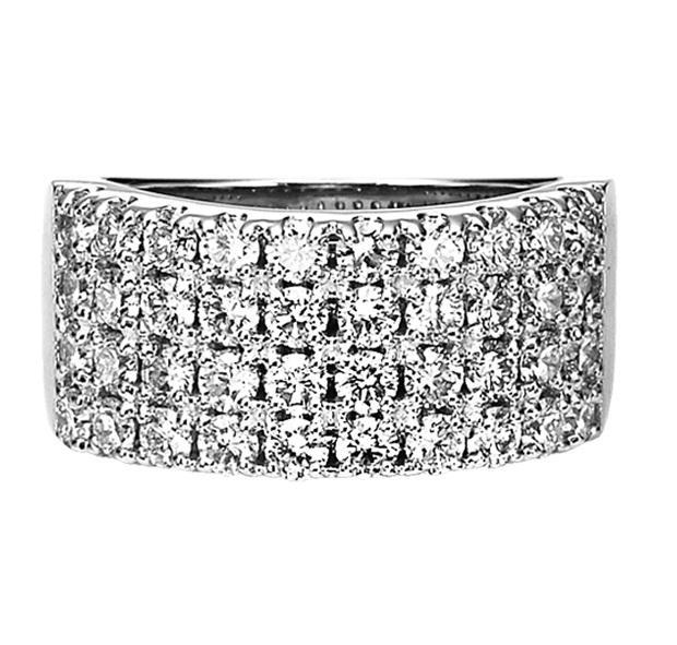 2 ctw Diamond Ring in 14K White Gold/HDR1428WA