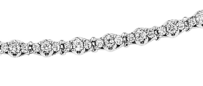 2 ctw Diamond Bracelet:SB948-2ct