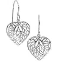 Silver Diamond Earrings / SER2047
