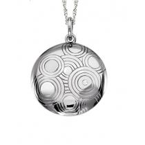 Silver Diamond Pendant / SPD3002