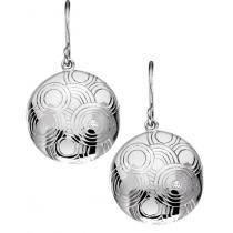 Silver Diamond Earrings / SER3002