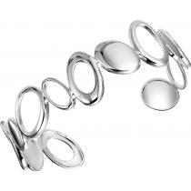 Silver Diamond Bangle / SBG1010