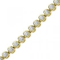 5 ctw Diamond Bracelet. / B276C-5CT