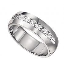 Men's 1/4 ctw Diamond Ring in 14K White Gold/CF30B