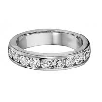 3/4 ctw Diamond Band in 14K White Gold/DA13B