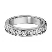 1.00 ctw Diamond Band in 14K White Gold/HDR1488LW
