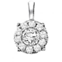 Gold and Diamond Certified Pendant  1/4 ctw: FP1233