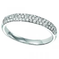 Gold and Diamond Band 1/4 ctw : FR1356AW