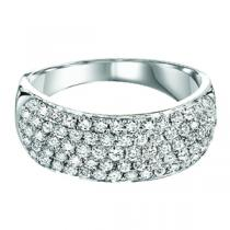 Gold and Diamond Band 1 ctw : FR1358AW