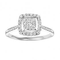Diamond Ring 1/2  ctw:FR4096