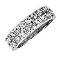 1 1/2 ctw Diamond Ring in 14K White Gold/HDR1467