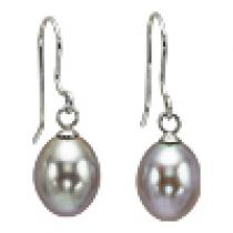 Silver F/W Pearl Earrings/NP001840P