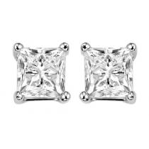 14K Diamond P/Cut Studs 1 ctw/PC6100MW