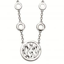 Silver Diamond Pendant : SPD3014