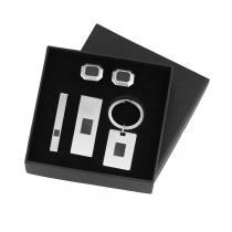 Gents Stainless Steel Boxed Set /TS1009