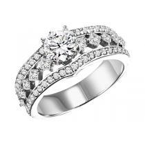 14K White Gold 3/4 ctw Diamond Ring/WB5727E