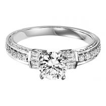 Gold and Diamond Engagement Ring 1ctw: WB5768E