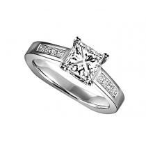 14K White Gold 3/8 ctw Diamond Ring/WB5872E