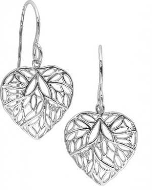 Silver Diamond Earrings / SER2047