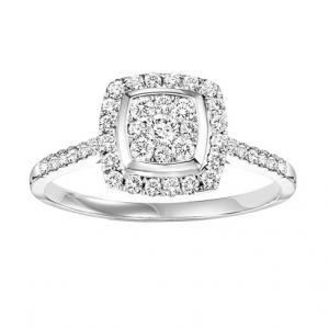Diamond Ring 1/2  ctw:FR4096