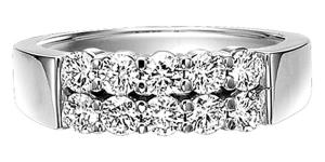 1 ctw Ideal Cut Diamond Ring in 14K White Gold/HDR1426ID