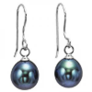 Silver F/W Pearl Earrings/NP001840B