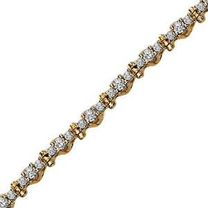 Diamond Bracelet 2ctw / SB948C/14K