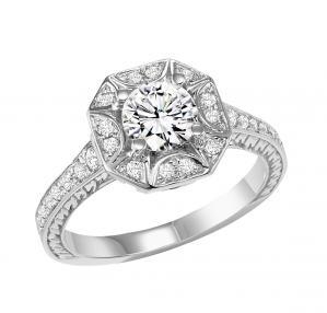 14K White Gold 1/3 ctw Diamond Ring/WB5805E